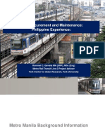 2014 Singapore Paper public and private procurement of maintenance service providers in operation for LRT Systems