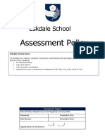 Assessment Policy