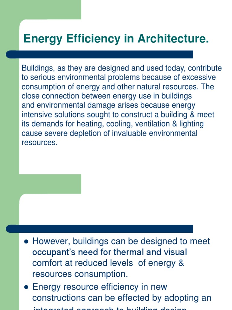 Energy Efficiency in Architecture-2!19!09-14 | Building