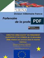 Presentation Directive Services Bourges  15 décembre 2009