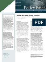 Will Elections Make Ukraine Stronger?