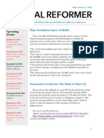 NorCal Reformer 50 (October 17, 2014)