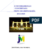 Plan de Desarrollo Concertado del Distrito de Jesús María 2012 - 2025.pdf