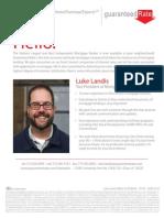 Luke Landis Bio Flyer