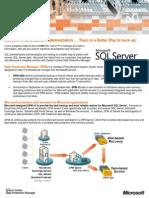 DPM v2 Datasheet Protecting SQL Server