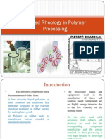 Lecture - 16 Applied Rheology in Polymer Processing