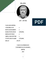 """Filsafat Manusia """"Plato"""""""