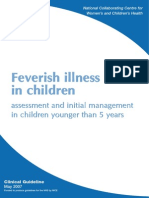 Feverish Illness in Children