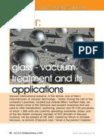 Glass Vacuum Coating