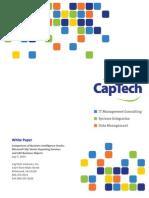 DMBI White Paper BI Tools