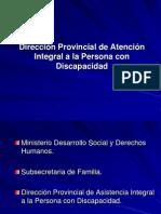 Dirección Provincial de Atención Integral a la Persona.ppt