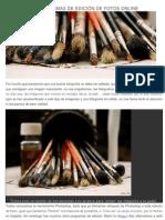 20 PROGRAMAS DE EDICIÓN DE FOTOS ONLINE.pdf