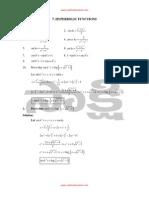 08 Hyperbolic Functions