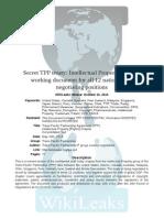 Acuerdo de Asociación Transpacifico (TPP) versión 2014