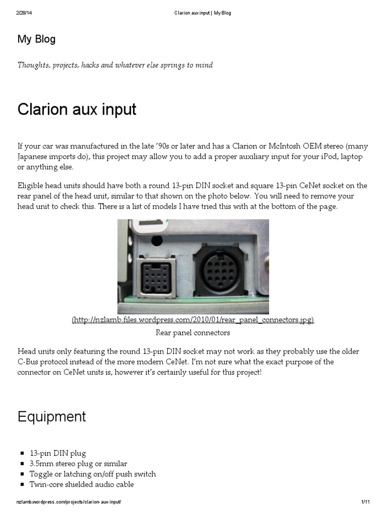Clarion Dxz385usb Wiring Diagram 32 Images Db185mp 1509915274 Harness For A Pf 1509aharness U2022 Edmiracle Co
