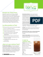 Kenzen Ten4 Factsheet - Spanish