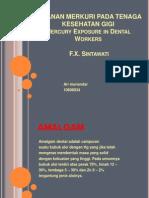 Jurnal Pajanan Merkuri Pada Tenaga Kesehatan Gigi