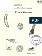 FRUTOS SILVESTRES - RECURSOS FITOGENETICOS - 1987 - PORTALGUARANI