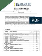 Www.lsa.Umich.edu UMICH Chem Home Undergraduate Advising Biochemistry Worksheet