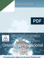 CHARLA Orientacion Profesionalen el sipsv.ppt