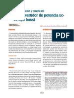 Análisis, simulación y control de Boost.pdf