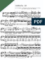 Mozart Piano Sonata K 284