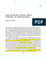Wapner__The Sensory-Tonic Field Theory of Perception