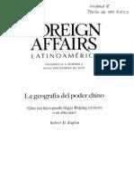Kaplan - La geografía del poder chino..pdf