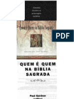 Quem é quem na Bíblia Sagrada - Paul Gardner.pdf