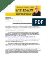 Bickel Campaign Fact Checks Sheriff's Campaign Debate