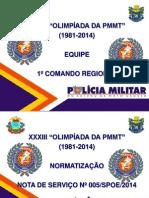 APRESENTAÇÃO OLIMPÍADAS REUNIÃO EQUIPE 1ºCR.ppt