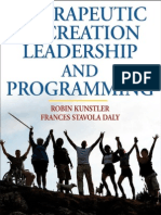 Therapeutic Recreation Leadership and Prog - Robin