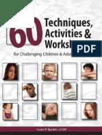 Over 60 Techniques Activities Worksheet - Susan Ep