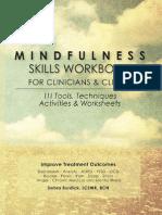 Mindfulness Skills Workbook for Clinicians - Debra