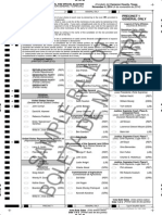 Sample Cameron County Ballots