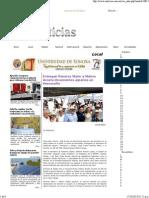 13-10-14 Entregan Ramírez Marín y Maloro Acosta documentos agrarios en Hermosillo