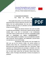 Textos Selecionados - Percurso Psicanalítico em Londrina.doc