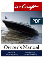 chris craft corsair 28 owners manual