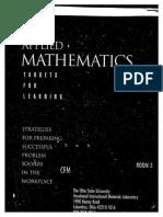 AppliedMathematics-TargetsForLearning