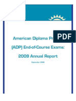 ADP End-of-Course Exams