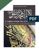 L'abolition du califat ou la première étape pour détruire l'Islam.pdf