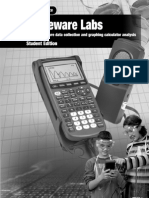 Glencoe Science - Probeware Labs - Usining Probeware Data Collection and Graphiing Calculator Analysis (Student Edition)