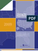 Closing the Expectations Gap 2009