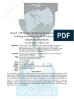Trans-Pacific Partnership Draft - Intellectual Property Rights Chapter (UPDATED)