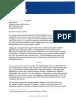 FB Letter to DEA