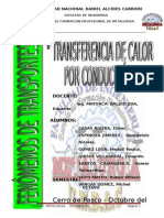Calor de Conduccion - Fenomenos de Transportes.doc