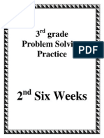 3rd grade 2nd six weeks problem solving english