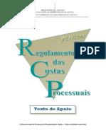 Apontamentos Regulamento das Custas Processuais.pdf