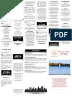 October 19, 2014 Worship Folder