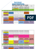 Exam Calendar 1435 36h Year 1 5 Rev
